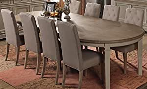 """Table RONDE extensible """"Charme"""" Meuble House"""