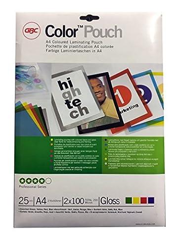 GBC Pochettes de plastification Qualité Premium Mat non réfléchissant 150microns