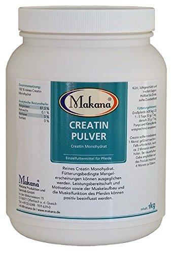 Makana Creatin Pulver für Pferde, 1er Pack (1 x 1 kg)