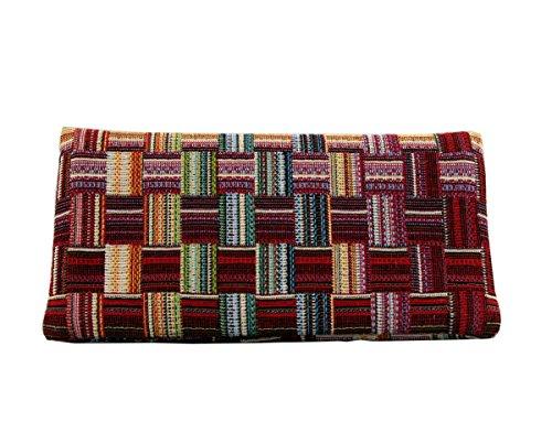 Plan B creaciones Plan B Tabakbeutel YOLO Ness (17,5 x 8,5 cm) mit EVA-Gummi Tasche Bis mit zu 50 Gramm Tabak Mehrfarbig