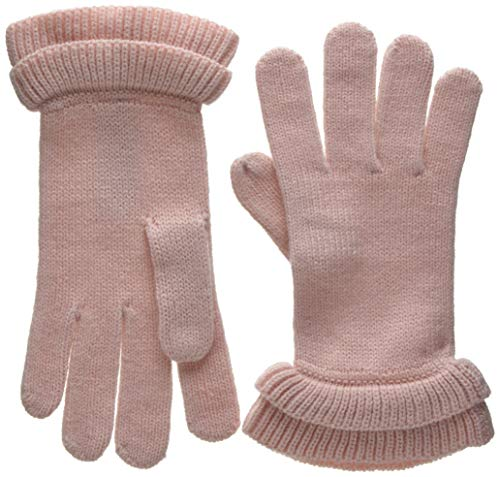 PIECES Damen Handschuhe PCFINA Gloves, Rosa Peachskin, One Size
