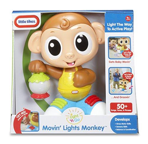 Little Tikes - 640933C - Movin' Lights Monkey - Singe Dansant Lumineux
