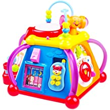 Giocattolo Musicale di Apprendimento per bambini TG654 - Stazione Musicale di Gioco e Attività con luci e suoni – Il Giocattolo di Apprendimento per bambini e bambine è un prodotto ThinkGizmos (marchio protetto)