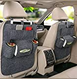 #4: Autofurnish 3D Car Auto Seat Back Multi Pocket Storage Bag Organizer Holder Hanger Accessory