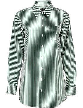 Gant 1403.432088 Camisa con Las Mangas largas Mujer Verde 318 40