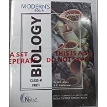 Modern ABC Plus of Biology Class-11 Part I & Part II (Set of 2 Books) (2018-19 Session)