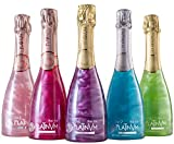 Pack vinos espumosos Platinvm con extractos de frutas y flores 37,5cl- ideal Navidad, cumpleaños, fiesta, celebración, corporativo, aniversario, jubilación