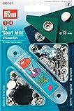 PRYM Druckknöpfe 13mm Sport Mini Nickel Silber (10PK)