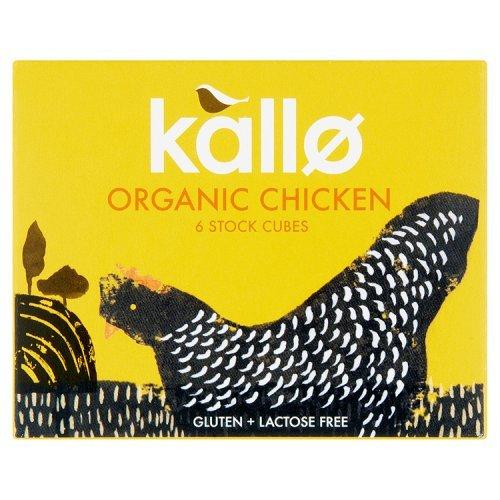 Bouillon de poulet Kallo Cubes 66g
