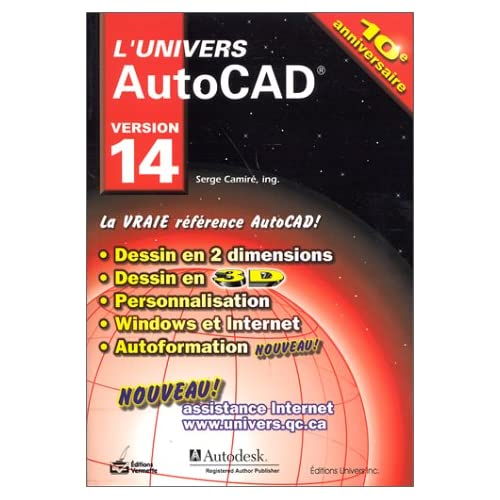 L'Univers autocad 14
