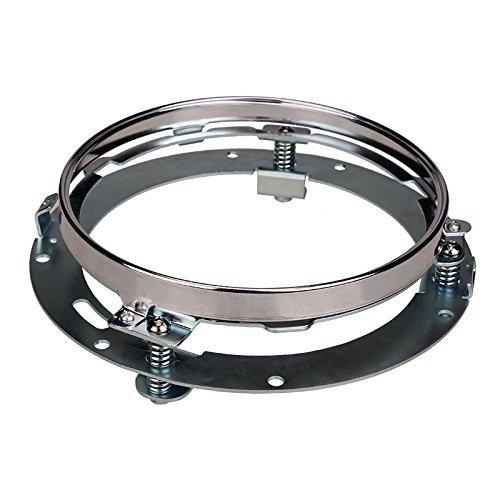 sunpie-7-pollici-rotonda-faro-anello-di-montaggio-per-harley-davidson-faro-monte