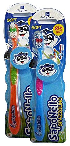 Saponello–Toothbrush Children Soft 6Years +
