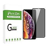 PaceBid Compatibile con Protezione Schermo Privacy iPhone XR, Face ID Completamente Pellicola Anti-Spy di Protezione, [Senza Bolle] [Anti-graffio] per iPhone XR