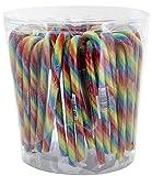 Candy Canes - Zuckerstangen Regenbogen - 50St