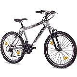 Unbekannt '24KCP jeunesse Vélo pour enfant Vélo VTT Street en aluminium chrome...