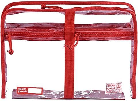 ROUGH ENOUGH, Trousse de toilette , Red (rouge) - RE8392