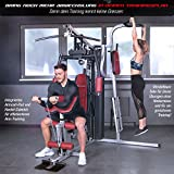 Sportstech Einzigartige 45in1 Premium Kraftstation HGX100/HGX200 für unzählige Trainingsvarianten Multifunktions-Homegym mit Stepper, Fitnessstation aus Eva Material für Zuhause- Robuste Konstruktion - 5