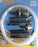 Univeral Staubsaugerdüsen-Set (PC-Reinigungsset) 8-teiliges, schwarz, Staubsaugerdüse mini, für Hobby, Computer, Auto uvm.