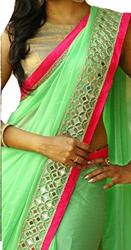 Bollywood Craze Banarasi Fabric Latest Desginer 2018 Collection Saree For Women Party...