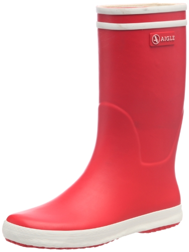 Aigle Lolly Pop Unisex-Kinder   Gummistiefel Rot (rouge / blanc 8) 36 EU