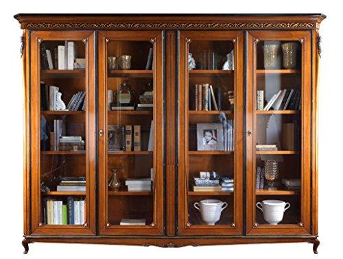 Bücherwand 4 Türen