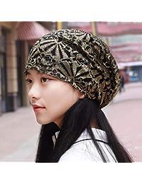 Willsego Sombrero de Mujer Ms Cap Modelos de otoño Transpirable Encaje bit  bit Toalla Gorra Gorra a7e829b186f