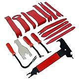 SODIAL 16 PZ Auto Auto Body Forming Porta Clip Clip Kit di rimozione del pannello di smontaggio