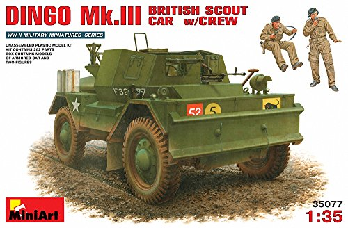 Unbekannt Mini Art 35077 - Dingo MK. III Recon Vehicle Britannique with Crew