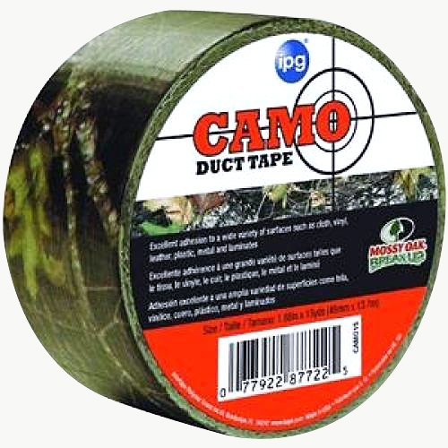 Intertape Polymer Group Camo Duct Tape 2 in. X 15 YARDS. (48 mm x 13,7 m) Mossy Oak (2 in. X 15 YARDS.)
