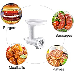 Antree - Hachoir et machine à saucisses pour robot KitchenAid