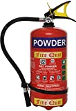 ANDEX Pressure Type Steel Fire Extinguisher - 4 kg (Red)