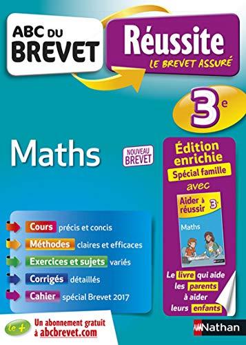 ABC du Brevet Réussite Parent Maths 3e