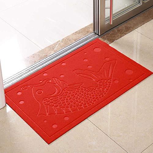 GAO Vor Dem Haus, Vor Dem Haus, in Der Portale, in Der Mansarde, in Der Teppichfamilie, in Der Fußmatte, in Der Badewanne, in Der Dusche, in Der Spüle, in Der Spüle. 80 * 120cm/Fisch - Rot
