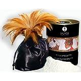 Shunga Edible Body Powder, Massagepuder, Raspberry, 228g