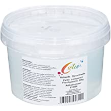 Creleo 610090 - Jabón de glicerina (500 g, cubo para microondas o bañera), color transparente