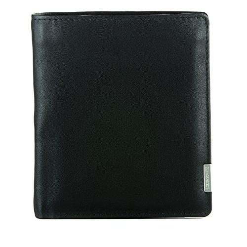 Bodenschatz Bergamo 8-486 BG 01 Herren Geldbörsen 11x13x1 cm (B x H x T) Schwarz (Black)