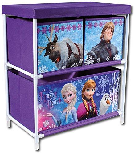 frozen inliner Frozen Spielzeugregal Aufbewahrung Anna Elsa Olaf Kristoff Sven