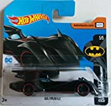 Hot Wheels 2017 Batman 5/5 Batmobile 190/365 (Short Card)