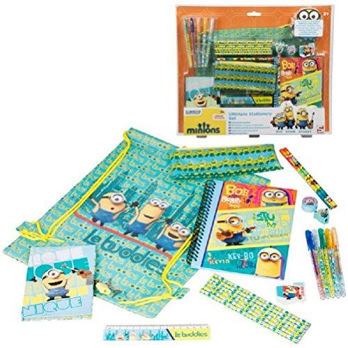 Fun Daisy-Set di cancelleria, motivo: Cattivissimo Me, Minion pennarelli, matite,