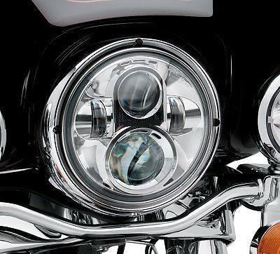 """Preisvergleich Produktbild 7 """"LED-Scheinwerfer für Harley Davidson Motorrad CHROME PROJECTOR DayMaker HID LED-Glühlampe"""