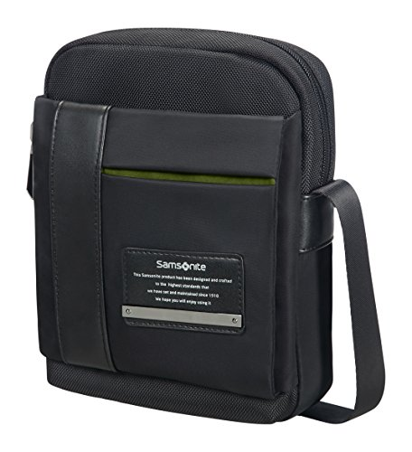 "Samsonite Openroad Tablet Crossover M 7.9"" Bolso Bandolera, 3.5 Litros, Color Negro"
