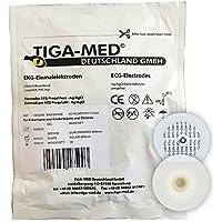 Preisvergleich für EKG Elektroden mit Nassgel/Liquidgel 48 mm 300 Stück Einmalelektroden Einmal- Klebe- Elektroden Typ: Tiga-Med...