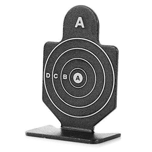 6 Stück Zielscheiben Ziele Targets aus Aluminiumlegierung für BB Airsoft Softair Pistole (Bogen Schießübungen Und Mit Pfeil)