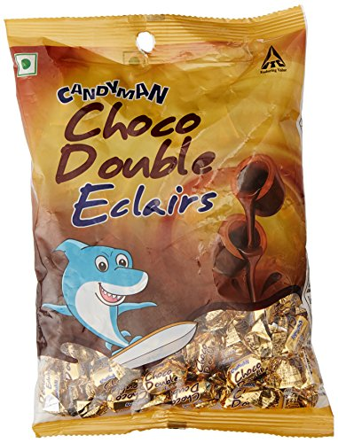 Candy Man Choco Double Eclairs, 380g