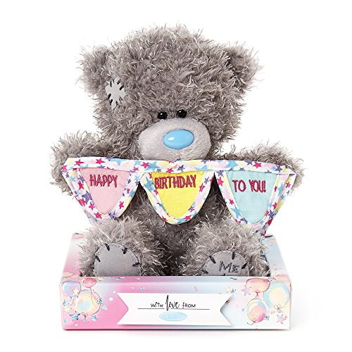 Me to You Ich Mich, Dich Happy Birthday Bunting Tatty Teddy Bär