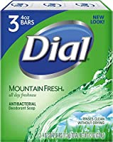 Dial Soap Set Mountain Fresh 113Gx3
