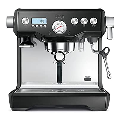 Sage by Heston Blumenthal the Dual Boiler Coffee Machine, 2200 W - Silver