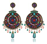 #8: YouBella Jewellery Valentine Collection Bohemian Style Fancy Party Wear Earrings for Girls and Women