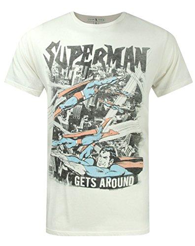 Herren - Junk Food Clothing - Superman - T-Shirt (S) (Junk Food-superman)