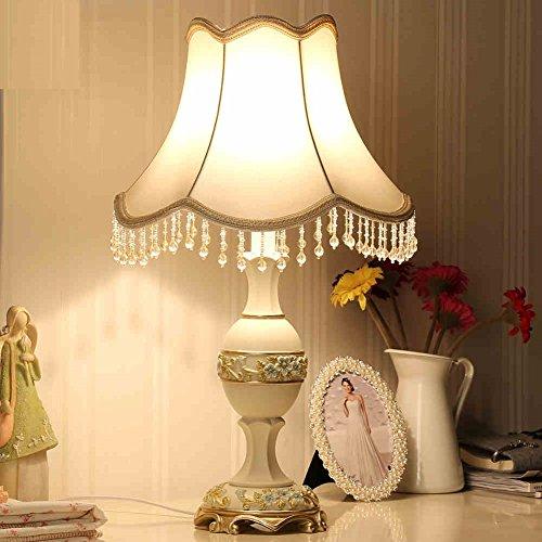 Lampada da tavolo in stile europeo dimmer sposato lampada da comodino camera da letto minimalista di lusso creativi della